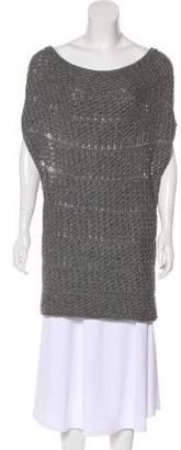 Donna Karan Sleeveless Knit Tunic