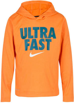 Nike Toddler Boys Dri-fit Watch and Learn Graphic Pullover Hoodie