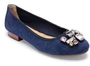 Me Too Sapphire Crystal Embellished Flat