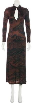CNC Costume National Knit Maxi Dress