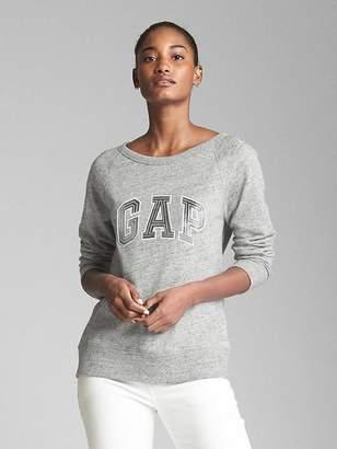 Gap Metallic Logo Pullover Sweatshirt in French Terry