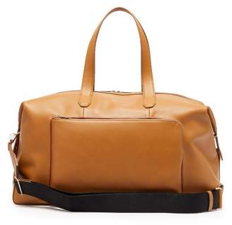 Paul Smith Leather Holdall - Mens - Tan