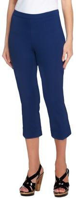 Isaac Mizrahi Live! 24/7 Stretch Petite Pull-On Crop Pants