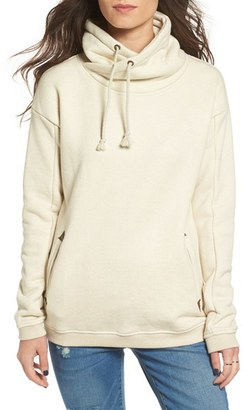 Roxy 'Waves Feeling' Big Collar Hoodie $59.50 thestylecure.com
