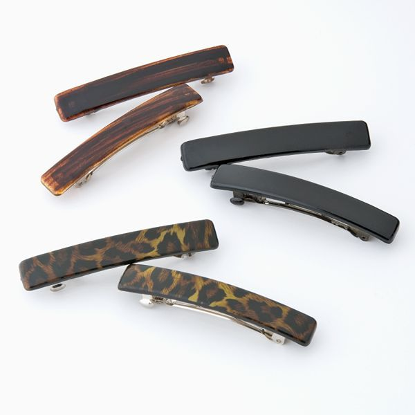 So® 6-Pk. Medium Barrettes