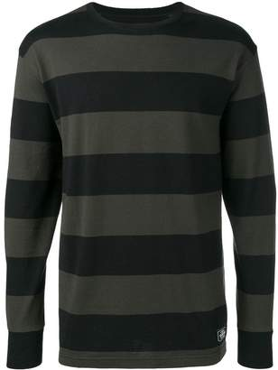 Neighborhood striped long-sleeve top