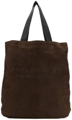 Philosophy di Lorenzo Serafini logo shopper tote