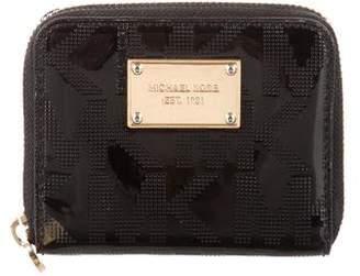 Michael Kors Monogram Patent Wallet