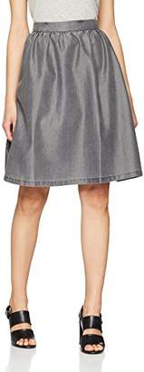 Minimum Women's Baltima 0138 Skirt, (Medium Grey), 6 (Size:34)