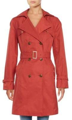 Cole Haan Double Breasted Trench Coat
