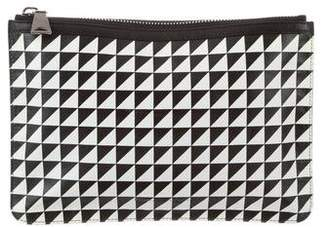 Proenza Schouler Printed Leather Zip Pouch