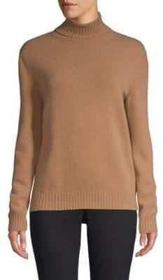 Max Mara Ellisse Wool& Cashmere Turtleneck Sweater
