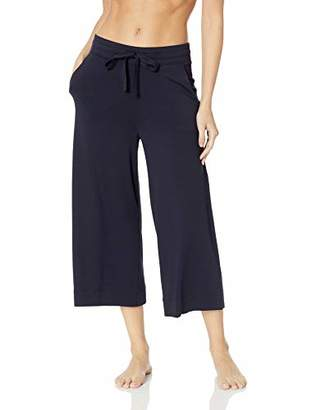 Mae Amazon Brand Women's Standard Supersoft French Terry Cropped Lounge Pant