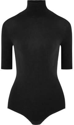 Commando Ballet Stretch-jersey Turtleneck Bodysuit - Black