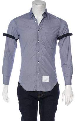 Thom Browne Gingham Button-Up Shirt w/ Tags