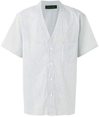 Christian Pellizzari striped baseball shirt