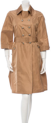 ValentinoValentino Double-Breasted Trench Coat w/ Tags