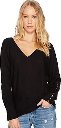 Splendid Women's V Neck Pullover