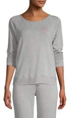 Beyond Yoga Flamingo Cotton Sweatshirt