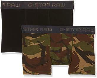 e763a247c52331 G Star G-Star Men's Classic Trunk Camo 2 Pack Bright Rovic Green ao/