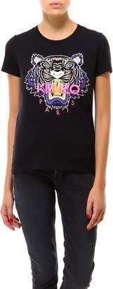 Kenzo Tiger Logo Crewneck T-Shirt