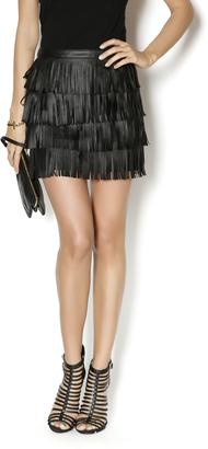 Cowgirl Justice Fringe Black Skirt $72.94 thestylecure.com