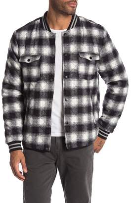 Sovereign Code Fargo Plaid Bomber Jacket