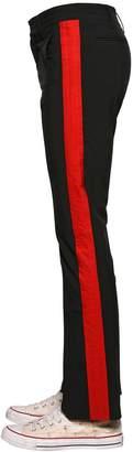 Faith Connexion Side Bands Stretch Fabric Pants