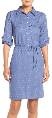 Women's Columbia 'Super Bonehead' Cotton Shirtdress $65 thestylecure.com