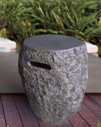 Elementi Stone Gas Tank Cover
