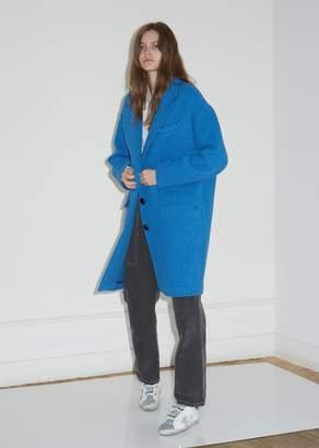 Etoile Isabel Marant Gimi Wool Cocoon Coat