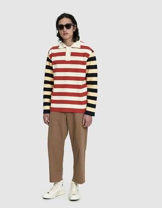 Sunnei L/S Polo Knit Shirt