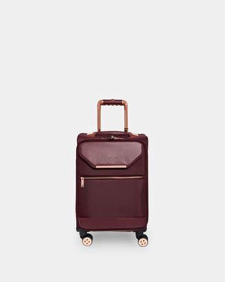 Ted Baker LUGGO Metallic trim small suitcase