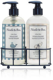 Noodle and Boo Healthy Hand Wash Hand Lotion Caddy Gift Set