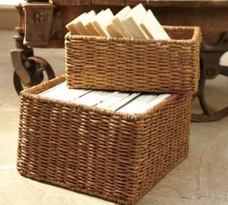 Pottery Barn Samantha Seagrass Baskets