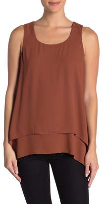 Karen Kane Double Layer Asymmetrical Tank