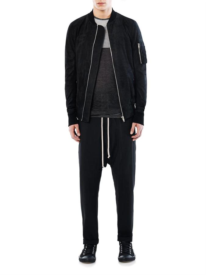 Rick Owens Drawstring wool trousers