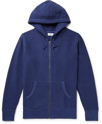 Saturdays NYC Cotton-Blend Terry Zip-Up Hoodie
