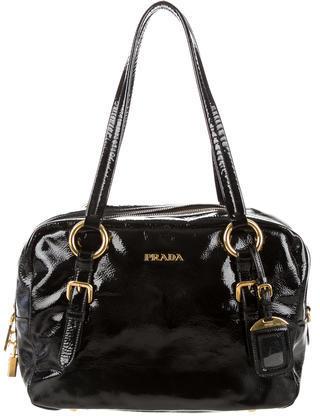 pradaPrada Vernice Shoulder Bag