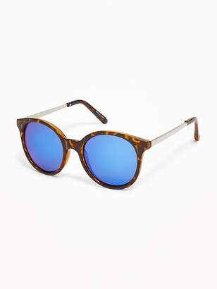 Old Navy Round Pop-Color Sunglasses for Women