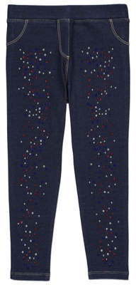 Bell George Dark Denim Embellished Diamante Jeggings