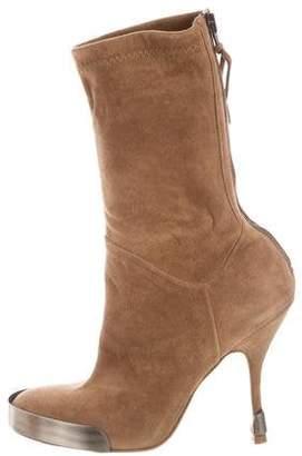 Jerome C. Rousseau Cap-Toe Ankle Boots