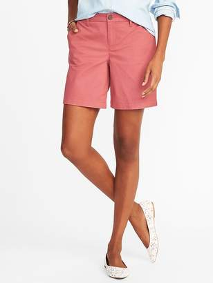 """Old Navy Mid-Rise Everyday Shorts for Women (7"""")"""