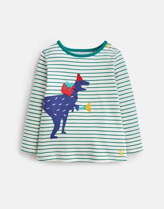 Joules Clothing Baby jack Applique Long Sleeve Jersey Top