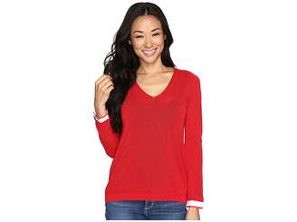 NYDJ Petite Petite Twofer Sweater Women's Clothing