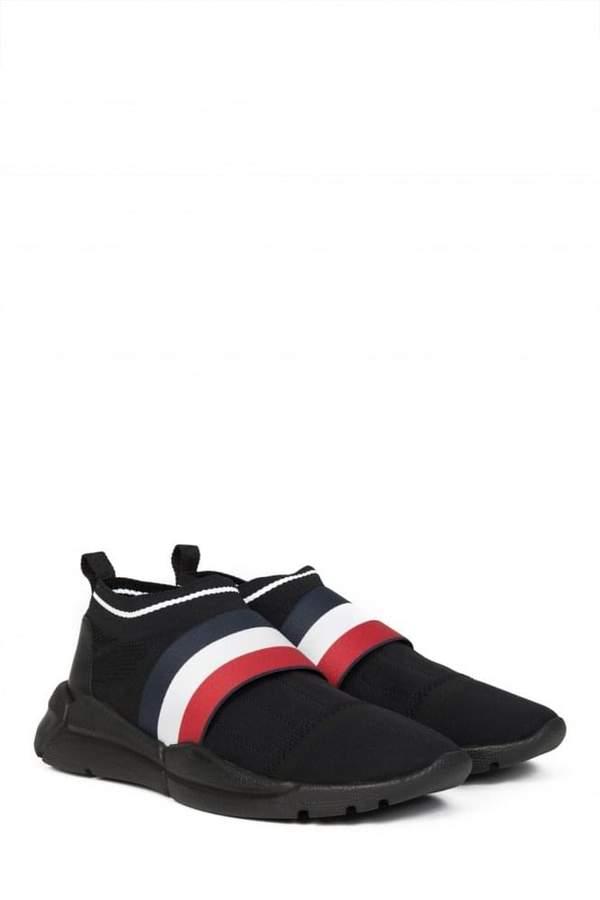 MonclerAdonSneakersBlack