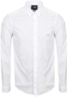 Just Cavalli Cavalli Class Long Sleeved Shirt White