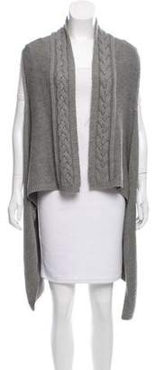 Magaschoni Wool Asymmetrical Vest