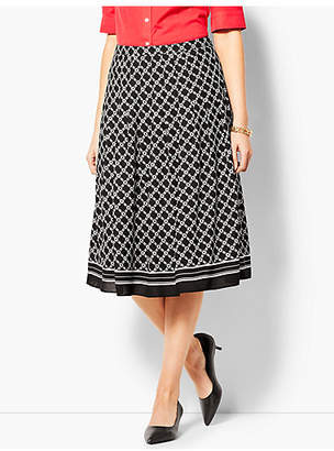 Talbots Geo-Print Full Skirt