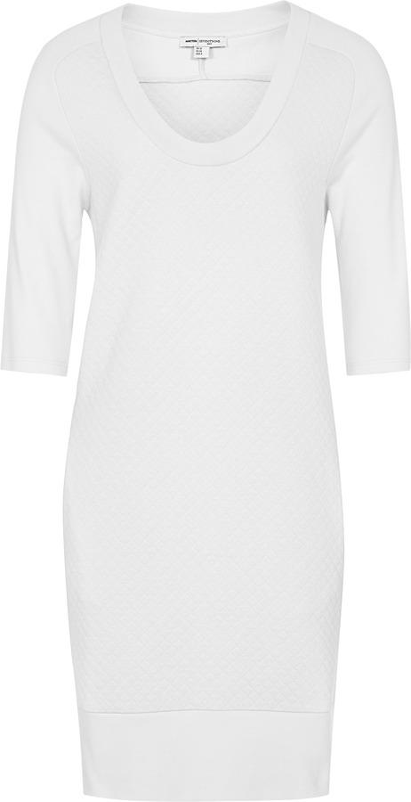 Reiss 1971 Jemma QUILTED SWEATSHIRT DRESS
